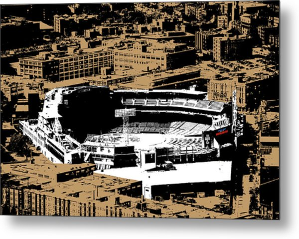 Green Monster Metal Print