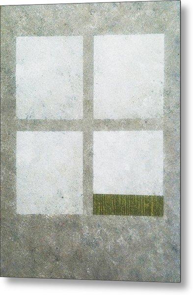 Green Painting 1 Metal Print