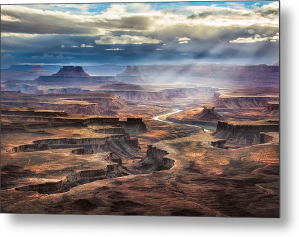 Green River Overlook Metal Print