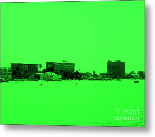 Green View. Special... Metal Print
