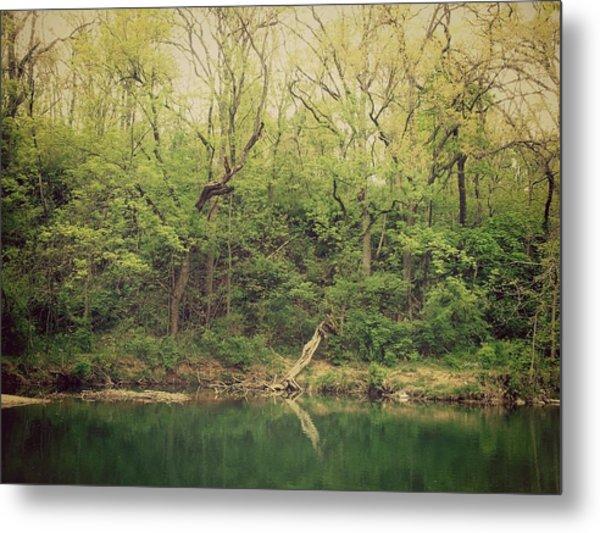 Green Waters  Metal Print by Kiara Reynolds