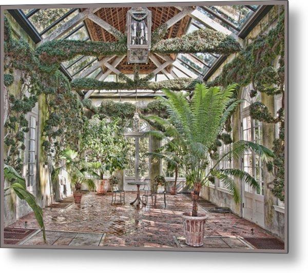 Greenhouse Splendor Metal Print by Elin Mastrangelo