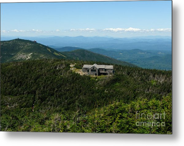 Greenleaf Hut Metal Print