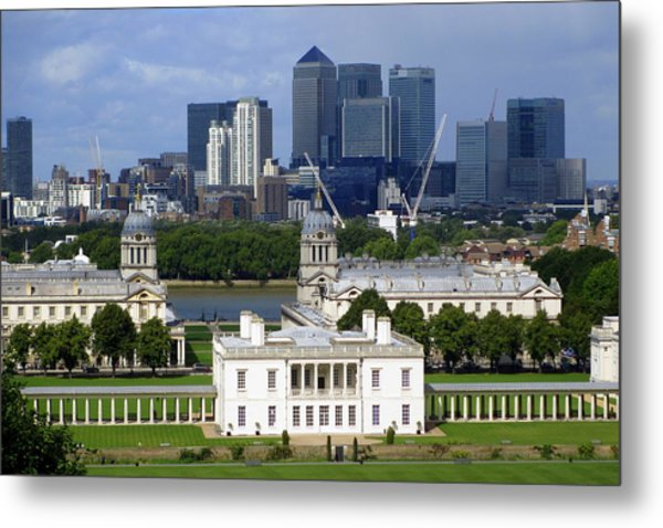 Greenwich View Metal Print by Donald Turner