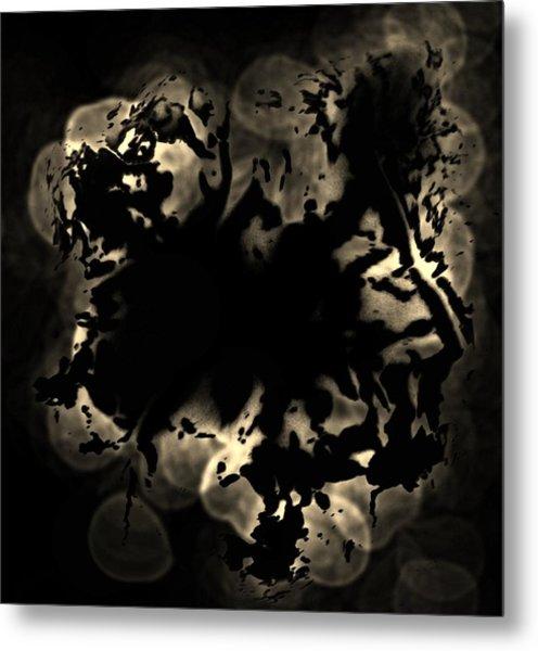 Grey Matter Metal Print by Tara Miller