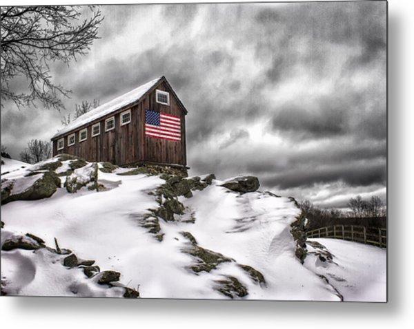 Greyledge Farm After The Storm Metal Print