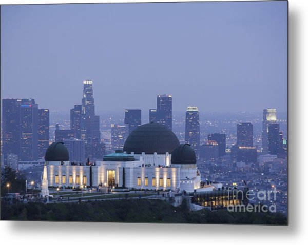 Griffith Observatory Los Angeles Metal Print