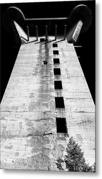 Metal Print featuring the photograph Grim Reminder by Menega Sabidussi