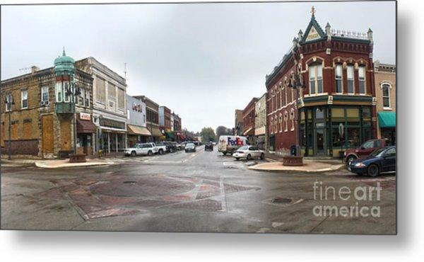 Grinnell Iowa - Downtown - 05 Metal Print