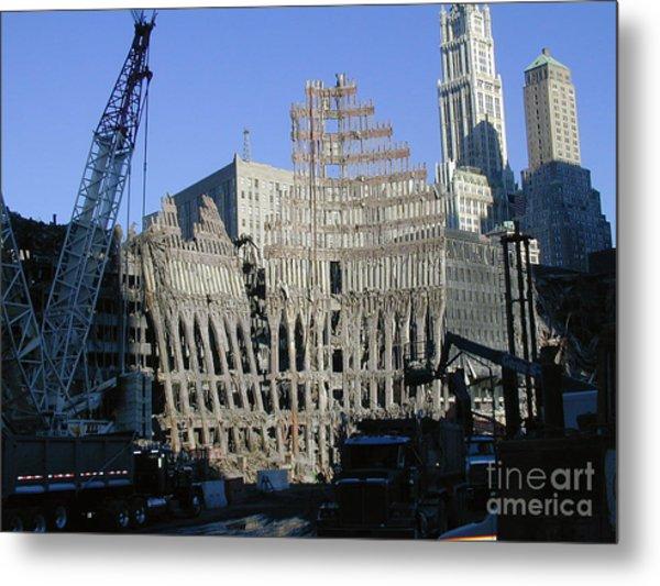 Ground Zero-2 Metal Print