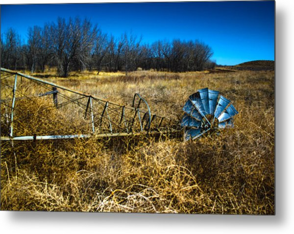 Grounded-hdr Metal Print