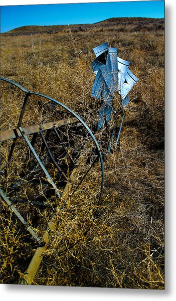 Grounded2-hdr Metal Print