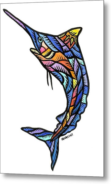 Guam Marlin 2009 Metal Print by Marconi Calindas