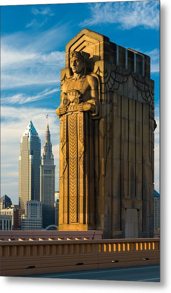 Guardian And Towers Metal Print