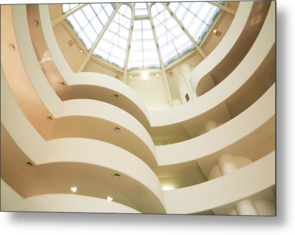 Guggenheim Curves Metal Print