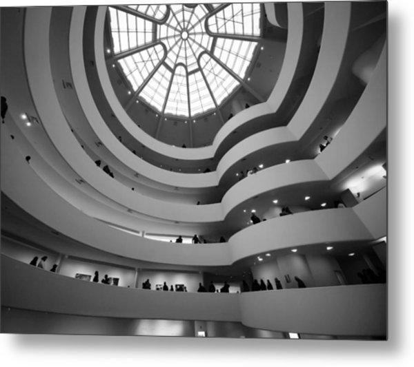 Guggenheim Museum - Interior Metal Print