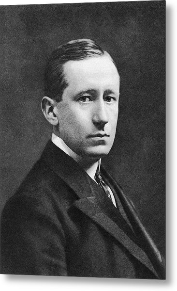 Guglielmo Marconi Metal Print by Miriam And Ira D. Wallach Division Of Art, Prints And Photographs/new York Public Library