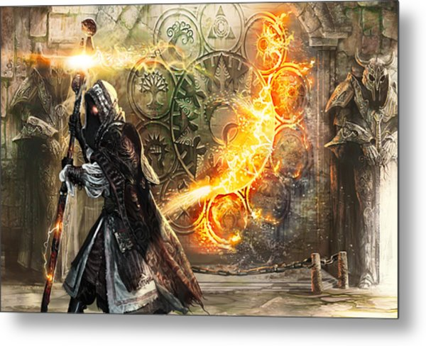 Guildscorn Ward Metal Print