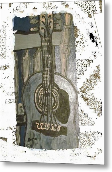 Guitar Metal Print