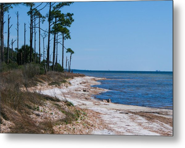 Gulf Island National Seashore 2 Metal Print