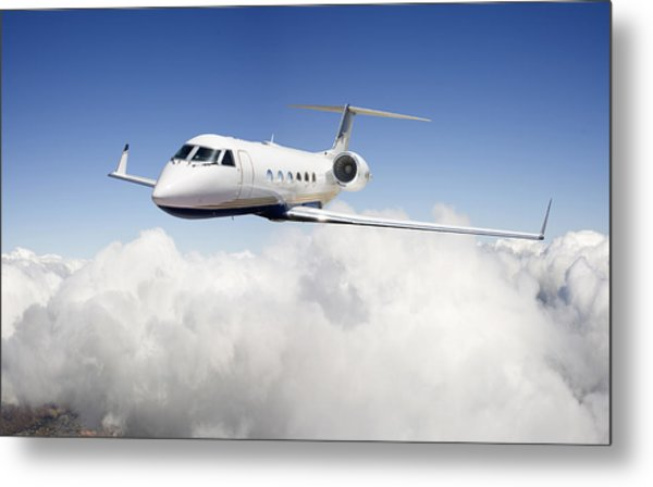 Gulfstream G-450 Metal Print