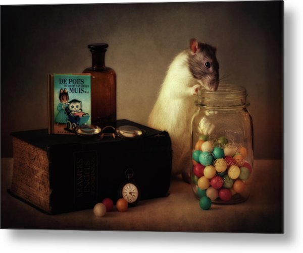 Gumballs (published In The New 1x Book memento.) Metal Print