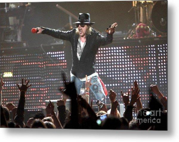 Guns N' Roses Metal Print
