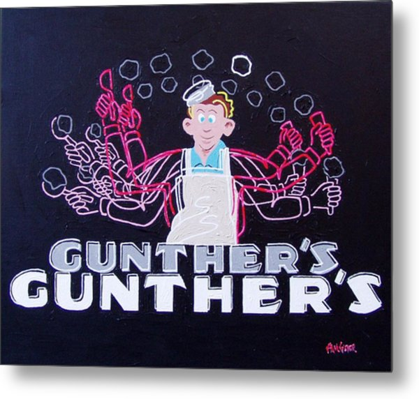 Gunthers Number 5 Metal Print by Paul Guyer