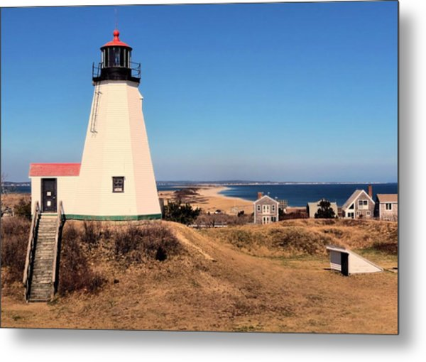 Gurnet Lighthouse Metal Print