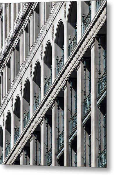 Gwynne Building Exterior Metal Print