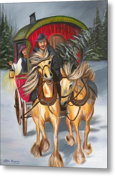 Gypsy Christmas Metal Print