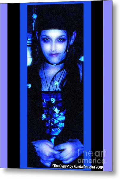 Gypsy Princess Metal Print