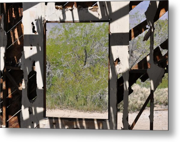 Had A Nice View Metal Print by Pamela Schreckengost