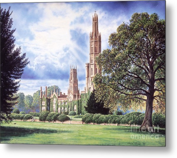 Hadlow Tower Metal Print