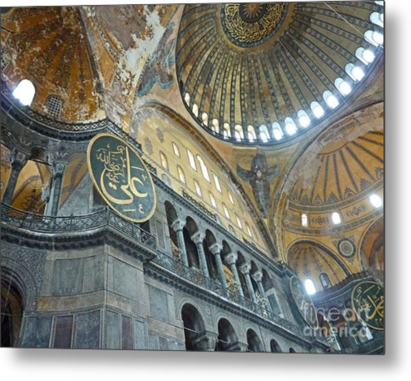 Hagia Sophia 4 - Istanbul Metal Print