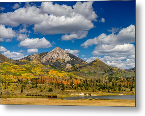 Hahn Peak And Steamboat Lake State Park Metal Print