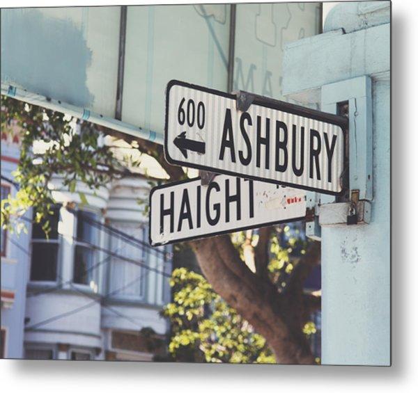 Haight Ashbury Metal Print
