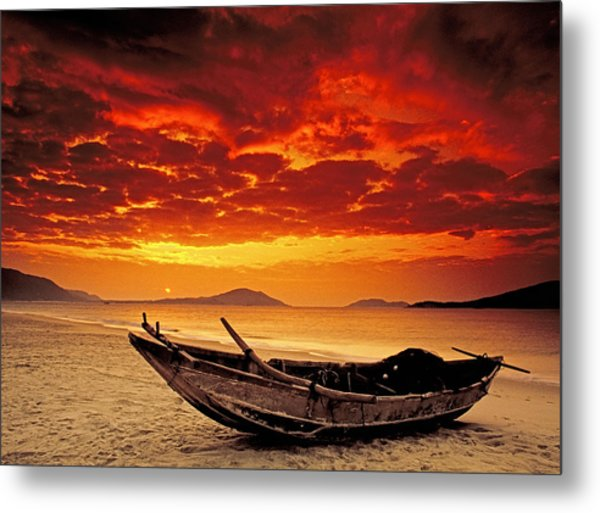 Hainan Beach 3 Metal Print