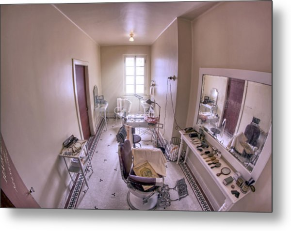Hair Dressing Room At Fordyce Bath House - Hot Springs - Arkansas Metal Print