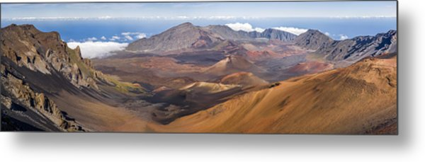 Haleakala Crater Hawaii Metal Print
