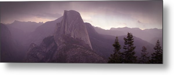 Half Dome From Glacier Point Metal Print