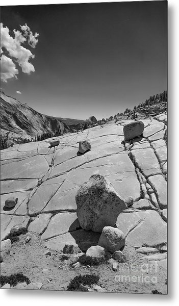 Half Dome From Olmsted Point Metal Print