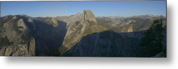 Half Dome Metal Print by Gary Lobdell