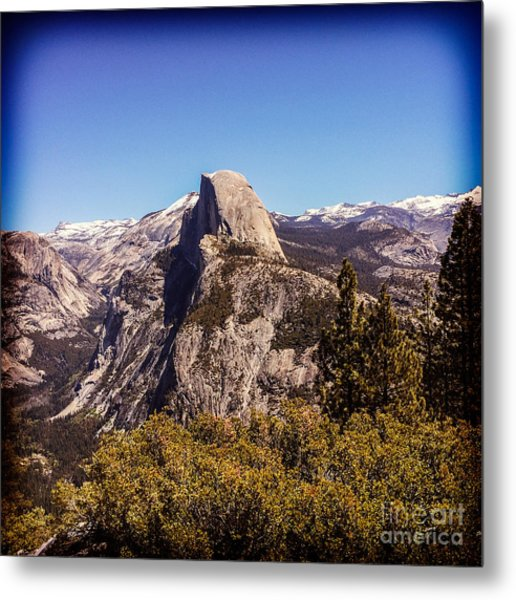 Half Dome Yosemite Nationa Park Metal Print