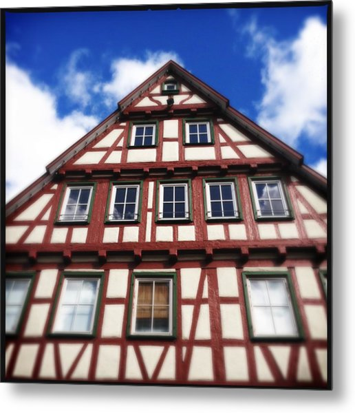 Half-timbered House 05 Metal Print