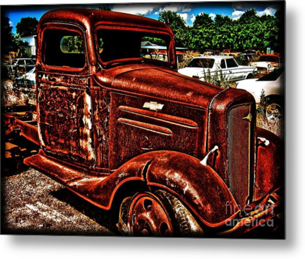 Half Ton Chevy - No.0243h Metal Print