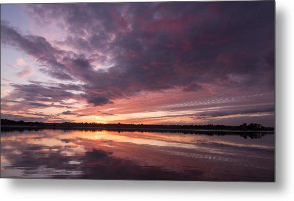 Halifax River Sunset Metal Print