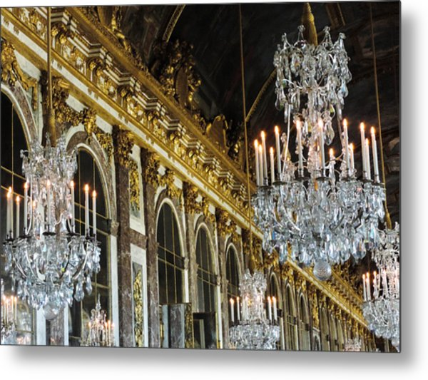 Hall Of Mirrors Metal Print by Clare Mulholland