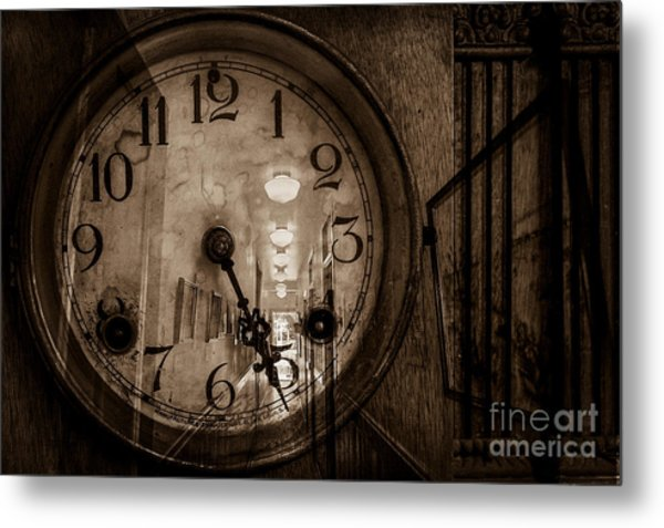 Hall Of Time Metal Print by Pam Vick