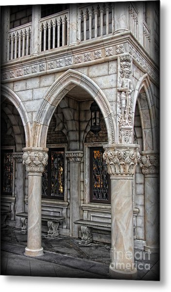 Hallways Of St. Mark's Metal Print by Lee Dos Santos
